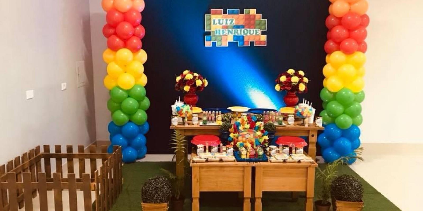 Festa Lego Simples