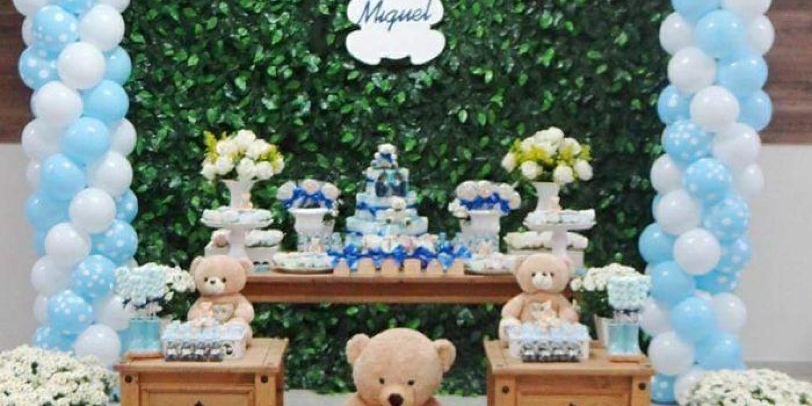 Chá de Bebê - Ursos