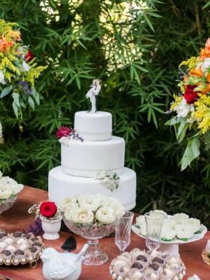 Casamento Rustico Romântico - Simples - Flores naturais - Foto 2