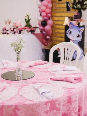 Mini Table - Gatinhos - Luxo - Foto 3