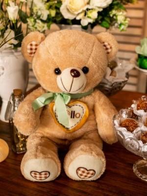 Chá de Bebê - Ursos Verde e Branco - Foto 1