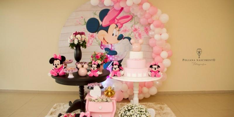 Mini Table - Minnie Rosa