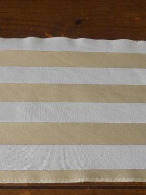 Detalhes do produto Jogo Americano - Branco/Dourado