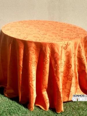 Detalhes do produto Toalha Laranja Floral