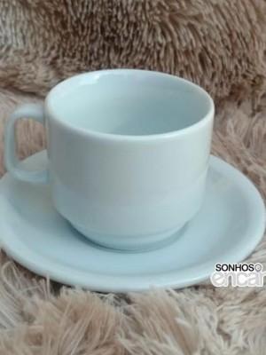 Detalhes do produto Xícara de Chá c/ Pires