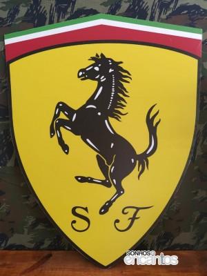 Detalhes do produto Ferrari - Logo