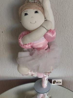 Detalhes do produto Bailarina Rosa - Ponta de Pé