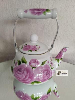 Detalhes do produto Chá de Panela - Chaleira Floral