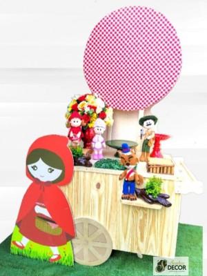 Detalhes do produto Chapeuzinho Vermelho - Kit Festa Pocket car