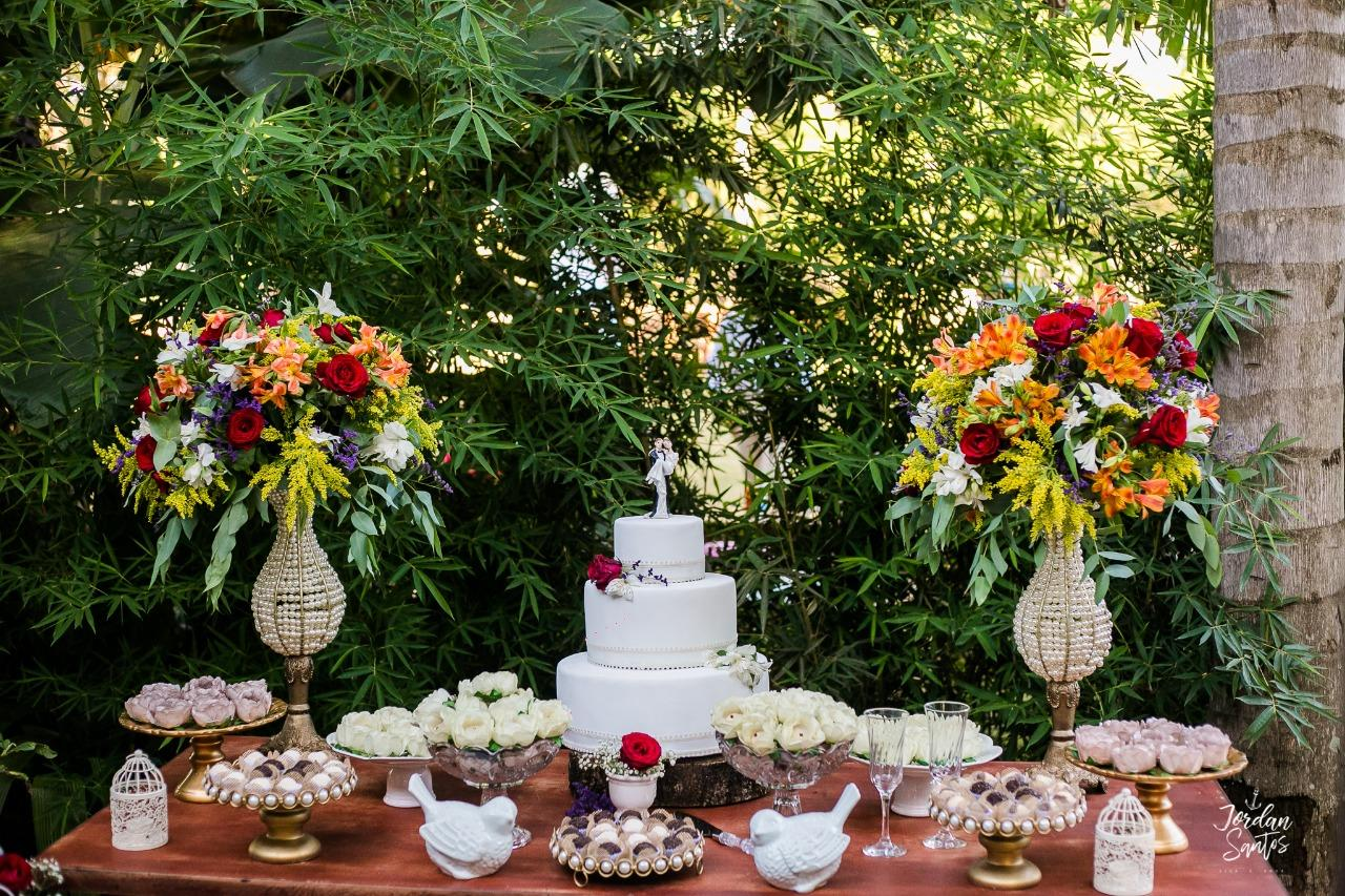 Casamento Rustico Romântico - Simples - Flores naturais